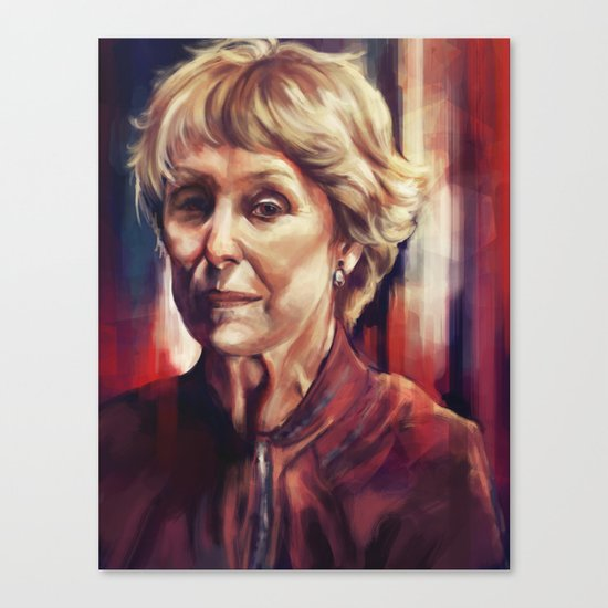 Mrs. Hudson Canvas Print