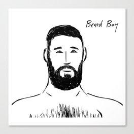 Beard Boy Classic 20 Canvas Print