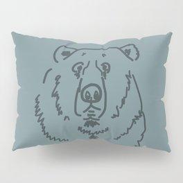 Befuddled Bear Pillow Sham