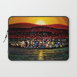 Angel Island Sunset (Square) Laptop Sleeve