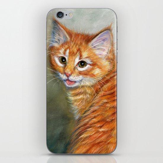 Ginger Kitten 1 iPhone & iPod Skin