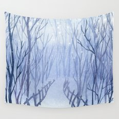 Winter scenery #3 Wall Tapestry