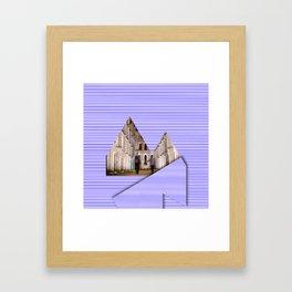 Reykjavik Boulevard #18 Framed Art Print