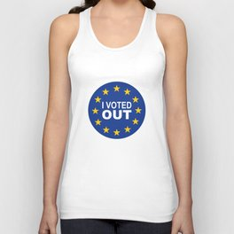 I Voted OUT Unisex Tank Top
