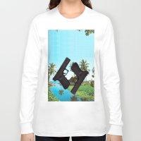 guns Long Sleeve T-shirts featuring guns by Hoeroine