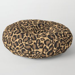 Leopard Print | Cheetah texture pattern Floor Pillow