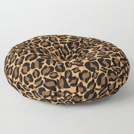 Leopard Print | Cheetah texture pattern Floor Pillow