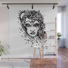 Certainty- The roses rise Wall Mural