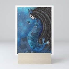 The Seal Woman Mini Art Print