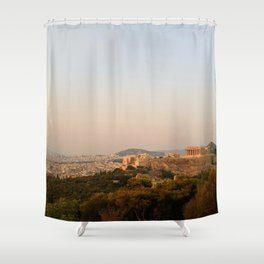 Rose Haze Shower Curtain