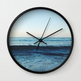 Blue World Wall Clock