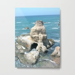 Central Coast Statue Metal Print