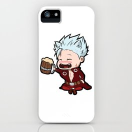 Seven Deadly Sins Ban Chibi iPhone Case