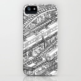 The Town of Train 3 iPhone Case