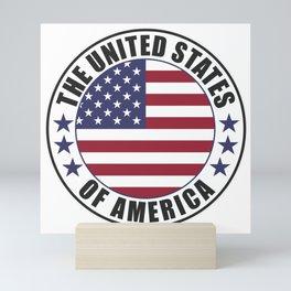 The United States of America - USA Mini Art Print