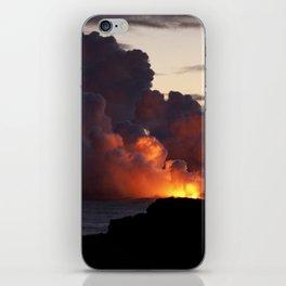 Lava Vaporizes Ocean iPhone Skin