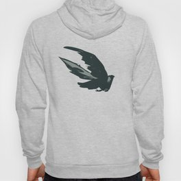 "Bird in Flight (from animated music video ""Mountain Flight"") Hoody"