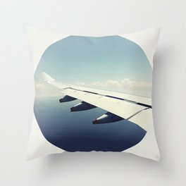 By Air Throw Pillow