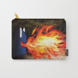 Fire Monster Design Carry-All Pouch