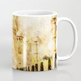 Taj Mahal Painting Coffee Mug