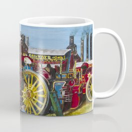 Day at the Steam Up Coffee Mug