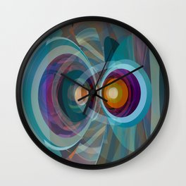Abstract Composition 577 Wall Clock