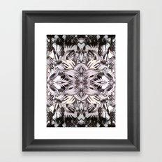 AMERICAN NATIVES KALEIDOSCOPE Framed Art Print