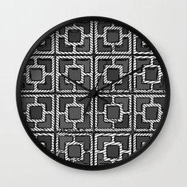Geo- 4x4 Wall Clock