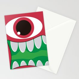 It's a Pink Mosnter! Stationery Cards