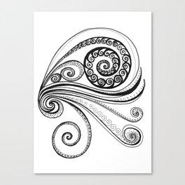 Sea Spiral Canvas Print