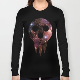 soul eater: lord death mask space Long Sleeve T-shirt