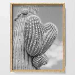"""""""Heart Saguaro"""" by Murray Bolesta Serving Tray"""
