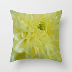 Yellow and Mellow Throw Pillow