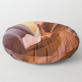 Antelope Canyon, United States Floor Pillow