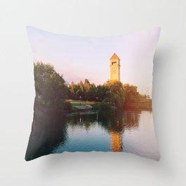 Spokane,WA. Throw Pillow