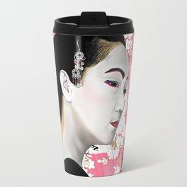 Geisha (芸者) by A.Harrison Travel Mug