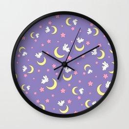 Rabbit of the Moon Wall Clock