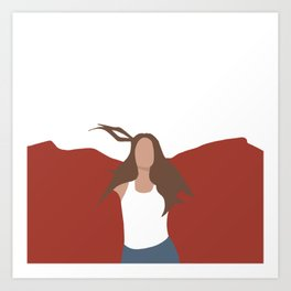MAGGIE ROGERS - HEARD IT IN A PAST LIFE Art Print