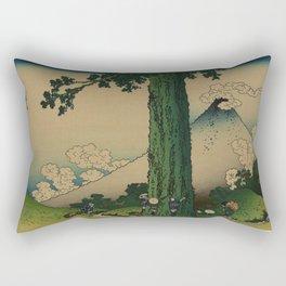 Hokusai Rectangular Pillow