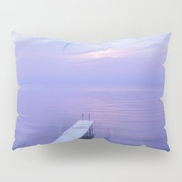 Long Dock Coastal Potography Pillow Sham