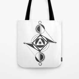 Go, Halt, Flow Tote Bag