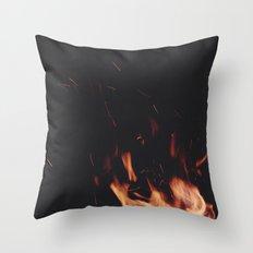 FIRE 5 Throw Pillow