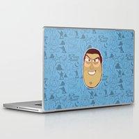 toy story Laptop & iPad Skins featuring Buzz Lightyear - Toy Story by Kuki