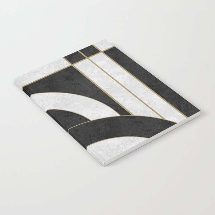 Geometric Marble 01 (abstract) Notebook