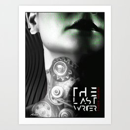 The Last Writer Art Print