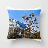 spain Throw Pillows featuring Sanábria, Spain by Elias Silva Photography