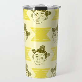 Hive Mind Yellow Travel Mug