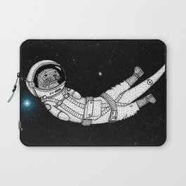 André Floating Around in Otter Space Laptop Sleeve