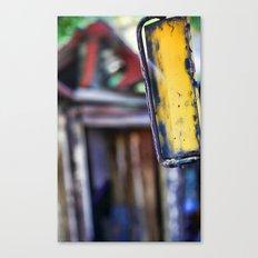Rear View Canvas Print
