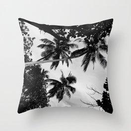 Third tree Throw Pillow